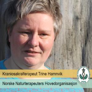 Portrettbilde av kraniosakralterapeut Trine Hamnvik, medlem av NNH